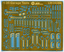 Alliance Model Works LW35086 1/35 Mechanic Tools (Connectionless Photoetch)