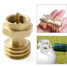 New Gas Cylinder Tank Coupler Propane Refill Adapter Heater Camping Outdoor BBQ