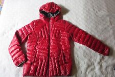 LOLE Water Repellent Packable Down Coat Jacket Red Size L 10-12