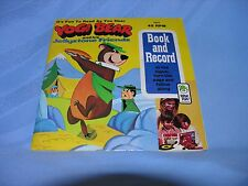"Vintage Record and Book ""Yogi Bear And His Jellystone Friend"""