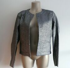 bnwt PAUL & JOE SISTER short JACKET coat metallic FR38