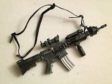 "HOT TOYS Loose M4 Carbine Rifle w/Accessories for 12"" 1/6 Scale Action Figures"