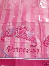 """Princess Stripe Table Cover, Birthday Party, Baby Shower, Bake Sale - 54"""" x 84"""""""