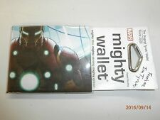 DC COMICS Iron Man bifold MIGHTY WALLET Brand New!