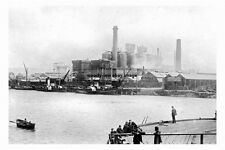 pt3061 - Middlesbrough Furnaces , Yorkshire - photo 6x4