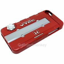 Honda B-Series Red Valve Cover Cell Phone Case JDM Licensed Fits: iPhone 5 5s SE