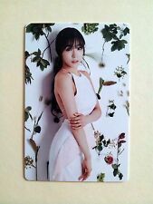SNSD Girls' Generation 2016 GREETINGS CALENDAR [ OFFICIAL ] PhotoCard - Tiffany
