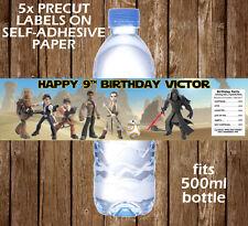 Star Wars personalizado de etiqueta de la Botella de Agua Decoración Fiesta Favor Regalo de la fuerza