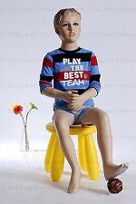 Child mannequin,manequin, dressform, display fullbody boy manikin- Don+1Pedestal