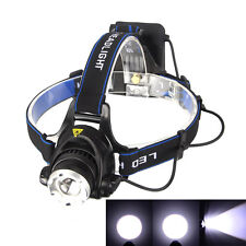 5000LM XM-L T6 LED Linterna Frontal Head Lámpara Antorch Luz Cabeza 4 x AA
