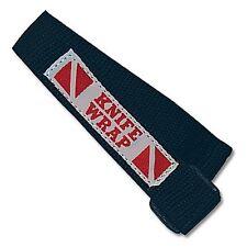 Knife Wrap Replacement Leg Strap Scuba Diving Blue Long