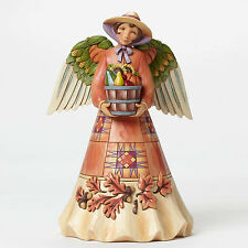 Jim Shore Thanksgiving Harvest Angel w/Bounty Figurine ~ 4047825