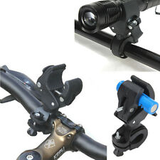 Bicycle Universal Flashlight Torch Front Light Mount Clip Holder Stand Bracket