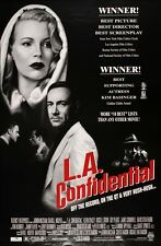 LA CONFIDENTIAL 1997 Golden Globe Review Ver DS Original  2 Sided Movie Poster