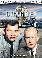 Dragnet 1967 Season 1 DVD Set of 2 DVD's Plus Bonus Radio Episode 3 Disc Total