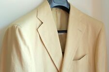 Cesare Attolini Pure Linen Sport Coat Blazer Jacket Current Model 38L Drop 8