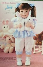"""The Hamilton Collection""""Julie"""" by Cindy Marchner Rolfe NIB -COA1197B"""