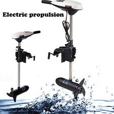 New 65LBS ELECTRIC OUTBOARD Fishing BOAT Trolling MOTOR Engine US STOCK