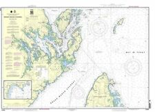 NOAA Chart Grand Manan Channel Northern Part; North Head and Flagg Cove 13394