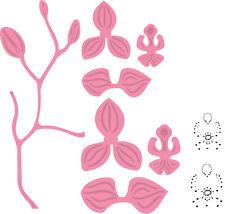 Marianne COLLECTABLES troquelado plantilla/Sellos Orquídea COL1379 *