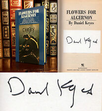 Flowers For Algernon HAND SIGNED by Daniel Keyes! Modern Classic! Very Rare!