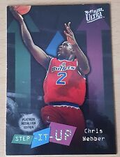 1996-97 Ultra Platinum Medallion #P288 SU Chris WEBBER