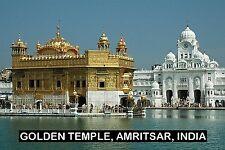 SOUVENIR FRIDGE MAGNET of THE GOLDEN TEMPLE AMRITSAR INDIA