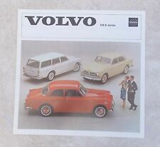 Vintage Automotive Brochure 1964  VOLVO 122S Series 122 S Sedan & Station Wagon