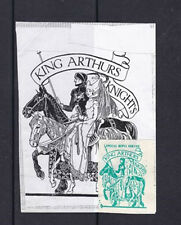 1971 STRIKE MAIL KING ARTHURS KNIGHTS SPECIAL REPLY SERVICE STAMP ON SHEET b