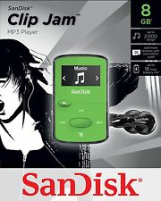SanDisk Sansa Clip Jam 8GB MP3 Player GREEN
