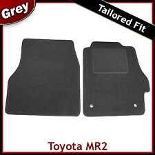 Toyota MR2 Tailored Fitted Carpet Car Mats GREY (2000 2001..2003 2004 2005 2006)