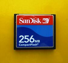 256 MB SanDisk CompactFlash CF Typ I Compact Flash  SDCFB-256 256MB