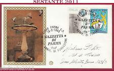 ITALIA FDC FILAGRANO CHIANCIANO TERME FONDAZIONE GAZZETTA DI PARMA 1985 Y943