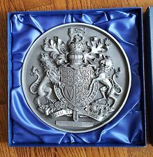 Vintage The Queens Silver Jubilee 1952-1977 Plaque by Marcus Design