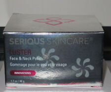 NIB Serious Skin Care Skincaare LUSTER Gommage Face and Neck Polish Exfoliate FS