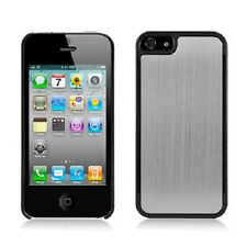 For iPhone 5 5S SE METAL Aluminum HARD Protector Case Snap On Phone Cover Silver
