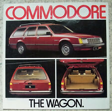 HOLDEN COMMODORE WAGON Sales Specification Leaflet 1979 LF #A2051 AUSTRALIAN