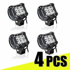 4 X18W CREE LED Work Light Bar Spot Beam Off road Driving Fog Truck 4WD SUV