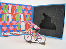 Giro d'Italia Centoanni 100 Pink Jersey Metal Handcrafted Cycling Figure Rapha
