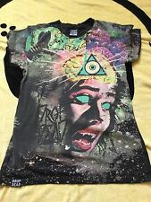 DROP DEAD CLOTHING BRAIN EATER T SHIRT TSHIRT MENS UNISEX SMALL S