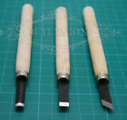 Hand Wood Chisels Carving Cut For Basic Woodcut Working 3pcs Lots DIY Tools