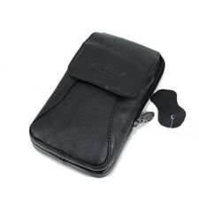 Men Genuine Leather Belt Pouch Cell Phone Case Cover Skin Waist Fanny Pack  Bag
