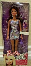 BARBIE FASHIONISTAS TERESA PURPLE SPARKLE DRESS TARGET EXCL X4859 *NEW*