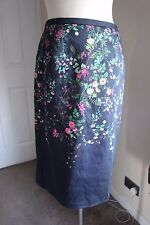 size 10 stunning cotton floral skirt from monsoon brand new beautiful