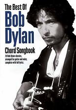 The Best of Bob Dylan Chord Songbook Guitar Chord Songbook)
