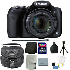 Canon PowerShot SX530 HS 16MP 50x Zoom Wi-Fi Digital Camera + 32GB Accessory Kit