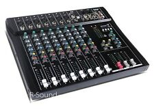 Brand New DSP DT8 Professional 8 Channel DJ Live Sound Audio Mixer