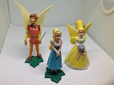 Lot of 3 Disney Don Bluth Dakin Thumbelina Cornelius PVC 1993 Figure