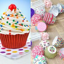 Colorful Hot Muffin Mini 100PCS Wrapper Cases Cup Cake Cupcake Paper Baking
