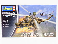 Lot 32291 | Revell 04944 mil mi-28n Havoc Helicopter 1:72 kit nuevo en OVP